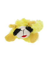 Baa Baa Yellow Sheep Plush & Squeaky Dog Toy - Most dogs don't like sheep but they sure do love our Baa Baa Yellow Sheep. This toy will provide hours of fun for your pup as he squeaks with every bite. These soft, cute and cuddly toys are designed for your dog to both snuggle with and play with.