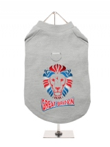 ''Team Great Britain'' Harness-Lined Dog T-Shirt