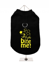 ''Bite Me'' Harness-Lined Dog T-Shirt